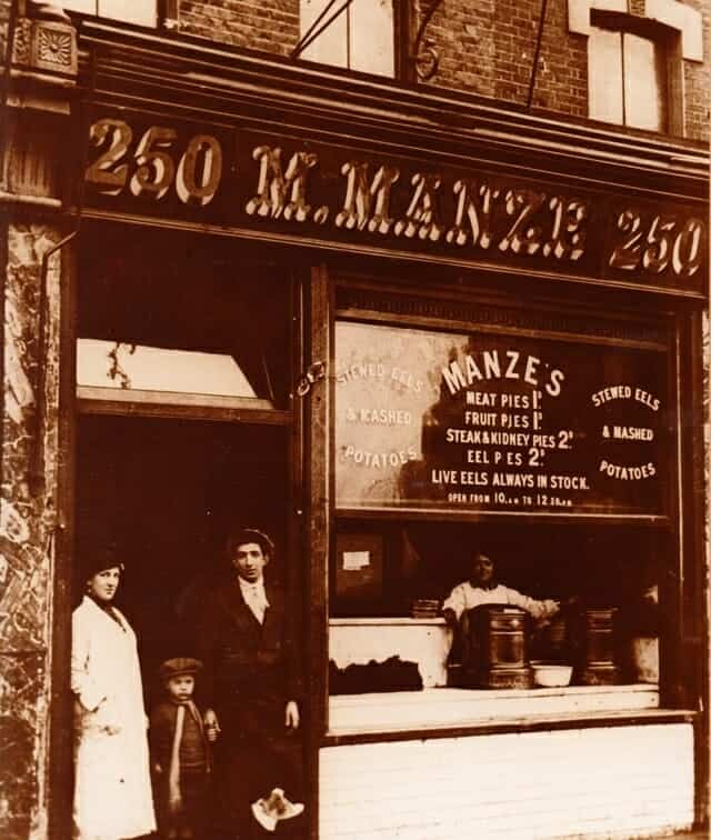 Manzes Pie Mash and Eels- Southwark Park Road