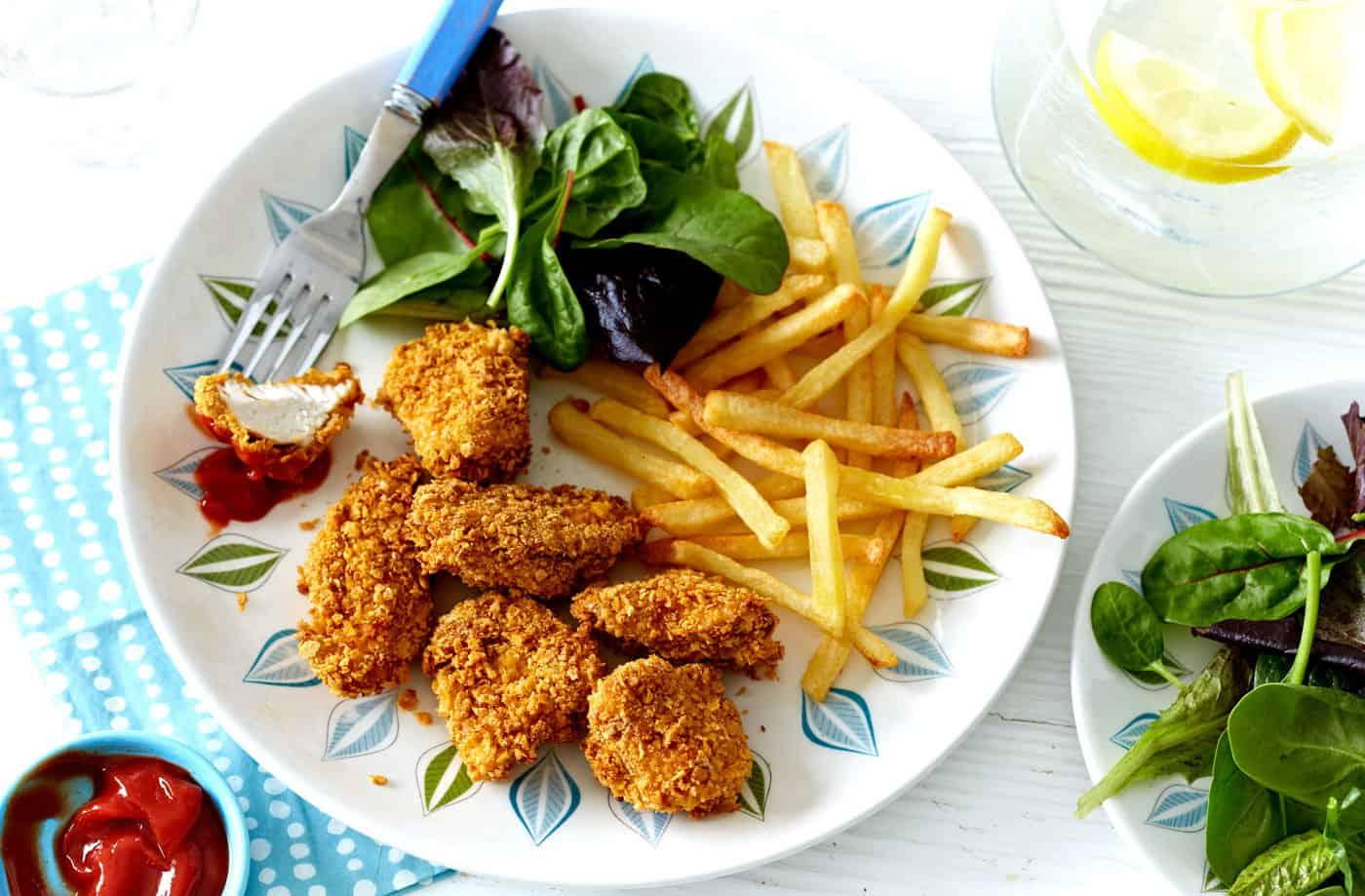 cornflake chicken strips