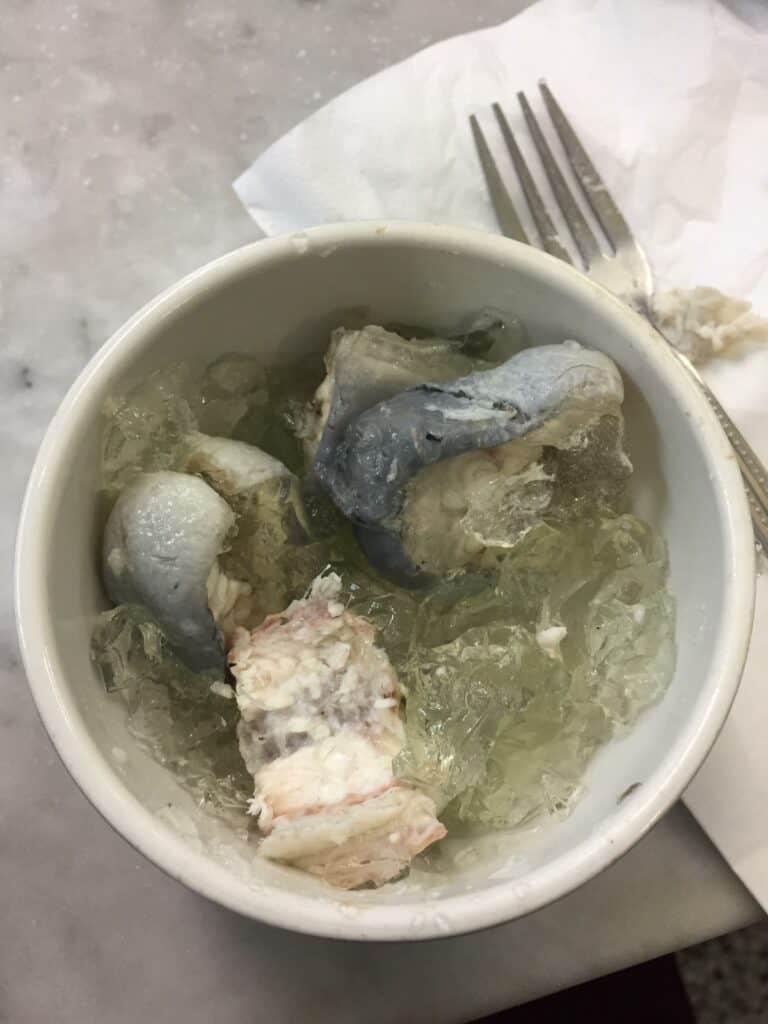 jellied eel portion
