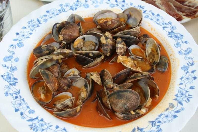 almejas clams