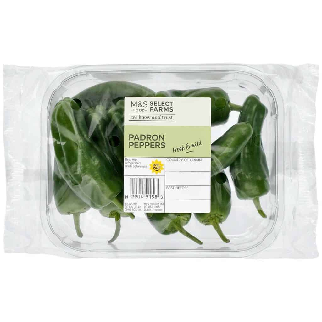 padron peppers from supermarket